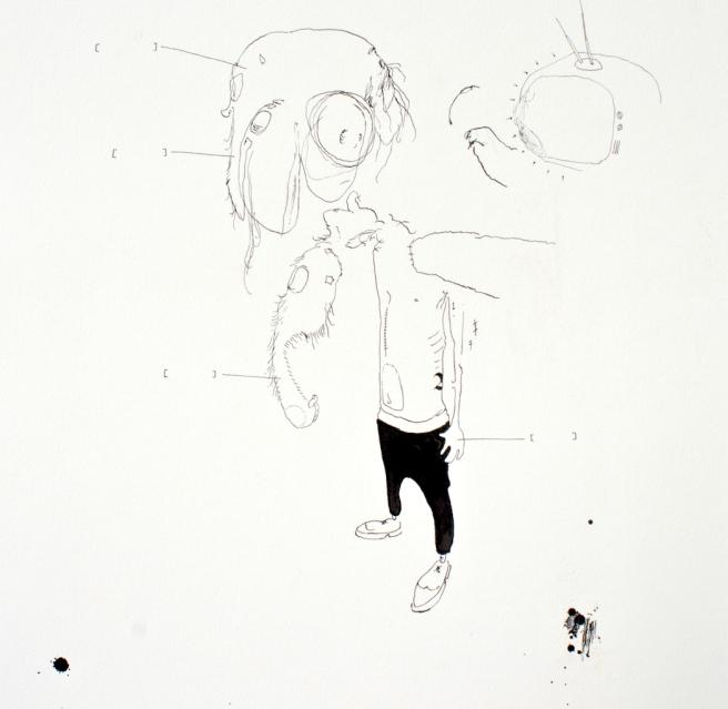 Street Dreams, 28cm x 38cm