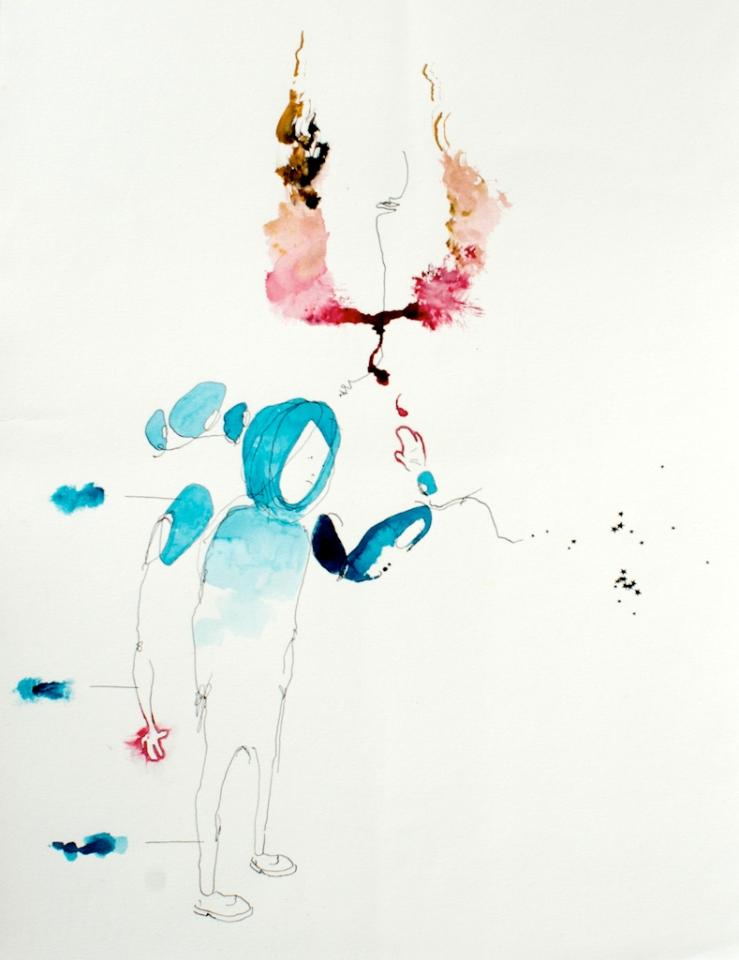 Young Desires, 38cm x 56cm